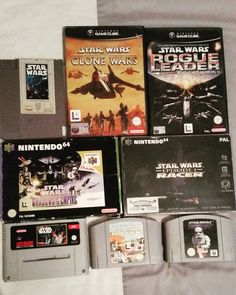 By retro_gamer_ireland: I find my lack of games disturbing  My humble Star Wars collection... I can't wait to get me somw Jedi Outcast for the GameCube it's an amazing game!   #StarWars #Episode1Racer #RogueLeader #DarthVader #TheForce #Nintendo #N64 #Nintendo64 #SuperNintendo #Snes #Nes #SuperNes #GameCube #RetroGamerIreland #RetroCollect #RetroCollective #RetroCollectiveEurope #RetroGaming #RetroGamer #RetroCollecting #IgersNintendo #Ninstagram #Dublin #Ireland #retrogaming #microhobbit