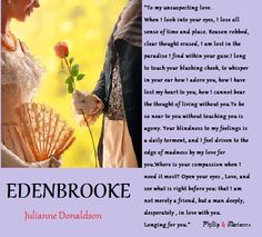 Swoon.... Sir Phillip and Marianne From Edenbrooke By Julianne Donaldson. Every girl should have a letter like this. #BookBoyfriendList     #IFLIST