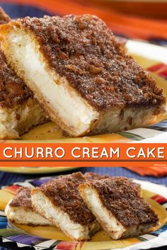All the taste of a churro, but in cake form! This is a great dessert to share with all your favorite people!