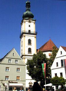 St. Michaelskirche in Weiden in der Oberpfalz...