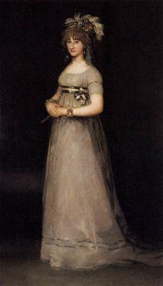 Goya- The Duchess of Chinchón.