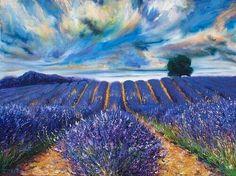 Lavender Fields, van Gogh