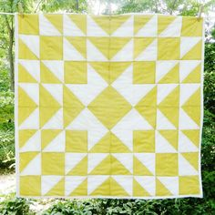 Hey Baby Craft Co.: Meghan Patchwork Unisex Baby Quilt, Multiple Colors #MarthaStewartAmericanMade