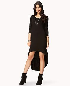 Forever 21 | Long Sleeve High-Low Dress | $14.80