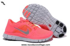 New 510643-600 Nike Free Run 3 Womens Neon Pink Silver For Wholesale.  @RRD87 these are the ones I want!!