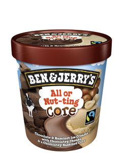 All or Nut-ting Core | Ben & Jerry's