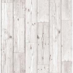 Fresco Wood Panel Neutral Wallpaper