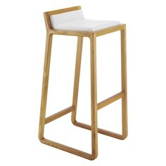 JOE Oak bar stool