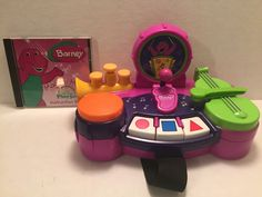 Turn your computer into a magical musical experience with Barney, BJ and Baby Bop. Barney even has his own one-man band where you can choose what instruments he plays! Magical Music CD-ROM Playset made by Hasbro in 2000. | eBay!