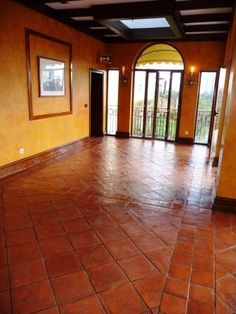 No More Slipping On Slippery Outdoor Saltillo Tiles With This - Tile floor slippery after cleaning