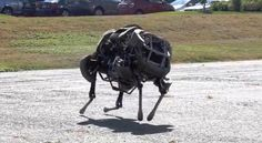 DARPA's WildCat robot gallops at 16 mph. Great, but it certainly won't sneak up on you!