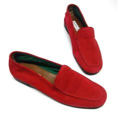 FRATELLI ROSSETTI vintage NEW shes pumps red di vintageinfashion