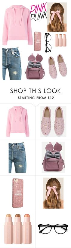 """""""Girly style"""" by edyta-murselovic ❤ liked on Polyvore featuring Closed, Levi's, Francesca's, Sephora Collection, EyeBuyDirect.com and girly"""