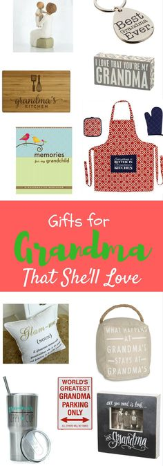 Awesome Gifts For Grandma That Sheu0027ll Love Nice Ideas