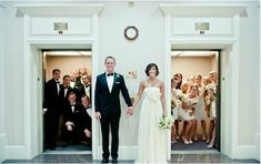 Love this photo!- And the whole look of the bridal party