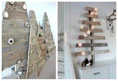 Bonitas y sencillas ideas para una navidad reciclada. Una original y económica forma de decorar en familia.