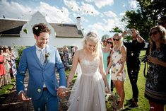 Bride in @willowbywatters Penelope gown | Romantic Farm Wedding by Jani B. | SouthBound Bride