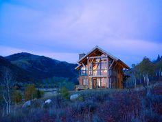 Деревянный дом в сельской местности от Robert Hawkins Architects - Сундук идей для вашего дома - интерьеры, дома, дизайнерские вещи для дома