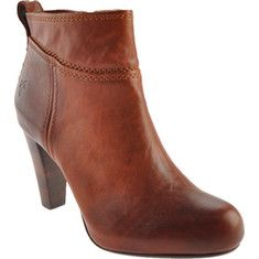 The Miranda is a striking high heel shoe bootie with a round toe on a concealed platform.