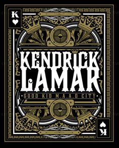 Kendrick Lamar Poster by Bramanteson04 on CreativeAllies.com