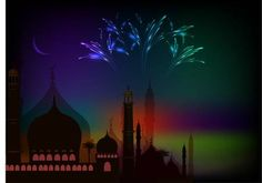 Picture of Ramadan 02 stock photo, images and stock photography. Happy Eid, Ramadan, Northern Lights, Stock Photos, Popular, Nature, Cards, Photography, Travel
