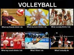 Volleyball What People Think I Do