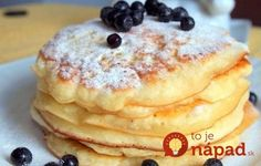 Pancakes at yogurt in 30 minutes: the perfect breakfast. How To Cook Pancakes, Crepes And Waffles, Cookie Recipes, Dessert Recipes, Smoothie Fruit, Griddle Cakes, Cooking Bread, Hungarian Recipes, Perfect Breakfast