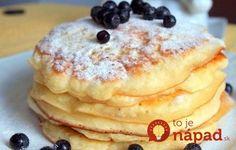 Raňajky, ktoré si jednoducho zamilujete. Lievance z jogurtového cesta sú…