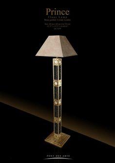 Prince Floor Lamp - Pont des Arts Studio - Designer Monzer Hammoud - Paris-