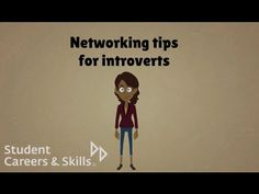 Networking for introverts: http://www.youtube.com/watch?v=QQKIesxF_vM
