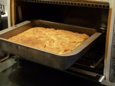 Toaster Oven Corn Bread Recipe via Toaster Oven Cooking, Convection Oven Recipes, Toaster Oven Recipes, Convection Cooking, Cooking Bread, Toaster Ovens, Bread Recipes, Cooking Recipes, Bisquick Recipes
