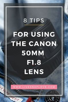 Got the Canon 50mm F1.8 but not getting the tack-sharp images you want? Then read this! Photography Tips Canon | Beginner Photography Tips #beginnerphotographer #photography #phototips #canon #lenses