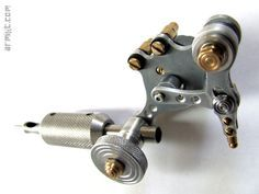 Machine à tatouer, rotative 100% récupération / Handmade tattoo machine, rotave 100% recovery