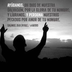 #Salmos 79:9 #RV60 #MASDETIenmi #Versículo #Biblia #Palabra #Dios