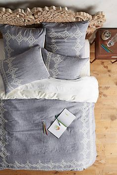 Embroidered Argenta Duvet