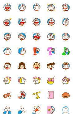 도라에몽 이모티콘 – LINE 이모티콘 | LINE STORE Mini Drawings, Cute Cartoon Drawings, Cute Kawaii Drawings, Cartoon Caracters, Doremon Cartoon, Doraemon Wallpapers, Cute Cartoon Wallpapers, Kawaii Doodles, Cute Doodles