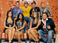 Jersey Shore (hate to admit that I watch this crap)