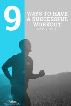 9 Tips For A More Successful Workout Get the most out of you workout and exercise! Follow these 9 tips to motivate yourself to workout smarter. They might just change your fitness forever. #fitness #workout #men #women