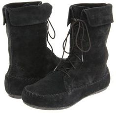 Minnetonka - Matilda (Black) - Footwear on shopstyle.com