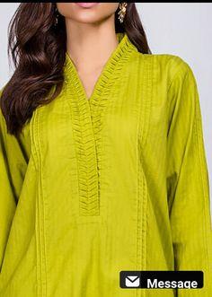 Salwar Neck Designs, Neck Designs For Suits, Kurta Neck Design, Neckline Designs, Sleeves Designs For Dresses, Dress Neck Designs, Kurta Designs Women, Fancy Dress Design, Stylish Dress Designs