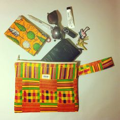 African clutch by ana