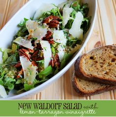 Waldorf Salad with Lemon-Tarragon Vinaigrette