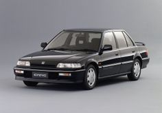 Honda Civic Si Sedan (EF) 1989–91