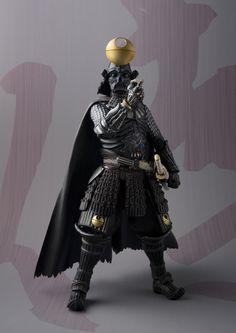 Star Wars Samurai Darth Vader Meisho Movie Realization Action Figure