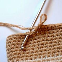 Leçon de crochet : finitions discrètes Dans le travail en spirale, on n'arrive…