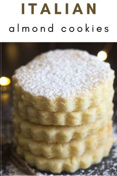 If you are starting to bake your cookies for the Holidays or just thinking about it I hope you give these Italian Almond Cookies a try. Enjoy!