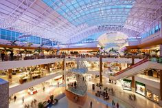 Home Decoration With Lights Salvador, Shopping Mall Interior, Shop Interiors, Shopping Center, Louvre, Fair Grounds, Lights, Luxury, Building