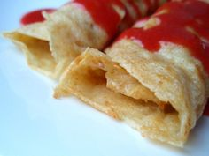 Whole Wheat Crepes (Swedish Pancakes) - serve with strawberry sauce ...