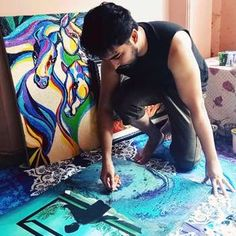 """""""Tumblr Artist"""" #Creative #Art in #painting @Touchtalent http://bit.ly/Touchtalent-p"""