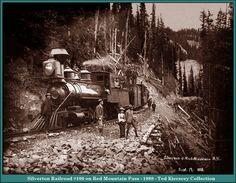 red mountain pass | silverton railroad 100 on red mountain pass 1888 image m00443 216k